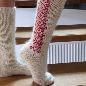 Accessories - Artisan-Made Wool Embroidered Eco-Friendly Socks
